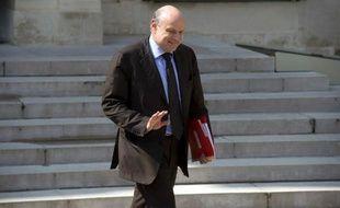 Jean-Marie Le Guen à la sortie du Conseil des ministres le 30 avril 2014 à l'Elysée à Paris