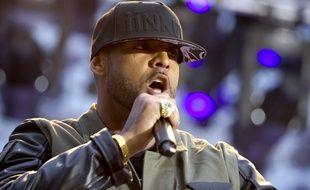Le rappeur Booba en mai 2014.