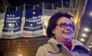 """Christine Boutin, candidate à la présidentielle du Parti chrétien-démocrate, a salué samedi """"le combat"""" de l'association """"Le Refuge"""" qui accueille des personnes homosexuelles en détresse."""