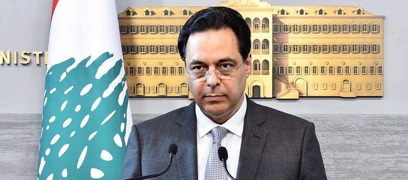 Le Premier ministre Hassan Diab.