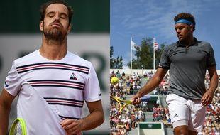 Richard Gasquet Jo-Wilfried Tsonga ont perdu au 2e tour de Roland-Garros, le 29 mai 2019.
