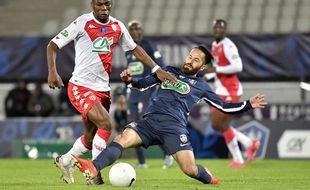 Les joueurs de Rumilly ont cru à l'exploit mais Monaco a fini par s'imposer largement en demi-finale de la Coupe de France, le 13 mai 2021.
