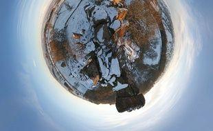 La planète vue de loin