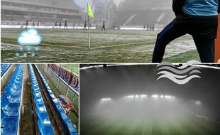 Les stades de Ligue 1 dans le brouillard