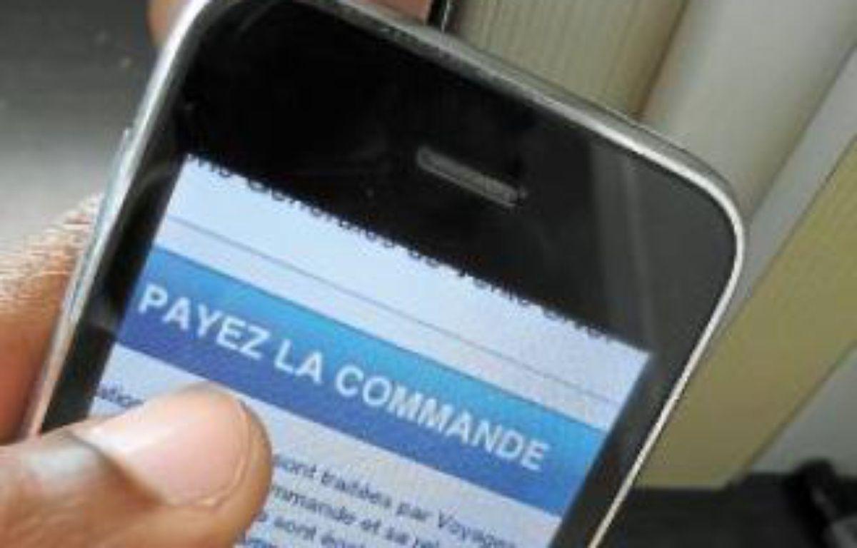 Le m-commerce a déjà été adopté par 45% des e-commerçants. –  F. LODI / 20 MINUTES
