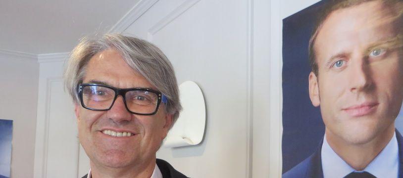 Pierre Cabaré, candidat LREM sur la 1ere circonscription de Haute-Garonne.