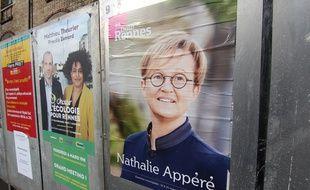 Les listes de Nathalie Appéré et de Matthieu Theurier sont arrivées en tête au premier tour de l'élection municipale à Rennes.