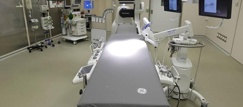 Une salle d'opération de l'hôpital cardiologique du CHRU de Lille (illustration).