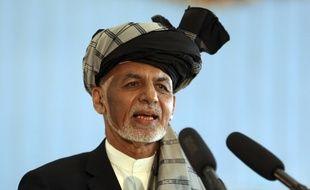 Le président afghan sortant Ashraf Ghani. (archives)