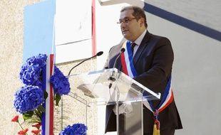 Pascal Cherki, député PS et maire du 14e arrondissement de Paris, lors d'un hommage à Jean Moulin, le 9 juillet 2013 à Paris.