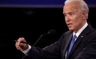 Joe Biden lors du dernier débat face à Donald Trump, le 22 octobre 2020.