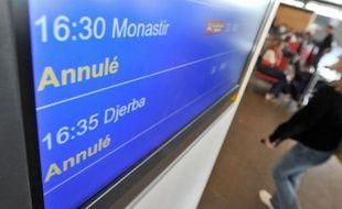 Moins de 12% des vols ont été assurés hier en Europe. 150000 ressortissants français seraient bloqués à l'étranger.