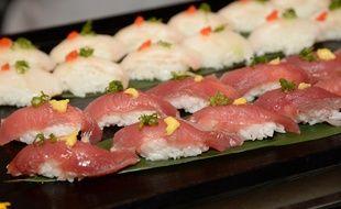 Illustration de sushis.