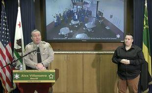 Le shérif du comté de Los Angeles a expliqué que des prisonniers ont tenté de contracter le coronavirus.