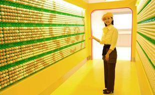 Une guide à l'usine de mayonnaise Kewpie à Tokyo