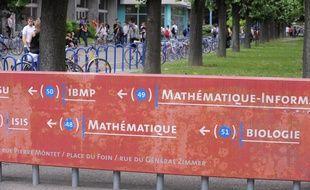 CARTE. Université de Strasbourg: Où sont les gros chantiers de l'Opération campus (Illustration)