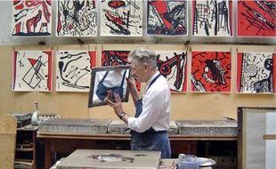 Le cinéaste américaine David Lynch expose ses estampes à Gravelines.