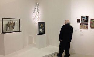 Vue de l'exposition Marcel Duchamp, la peinture même, au Centre Pompidou à Paris du 23 septembre 2014 au 5 janvier 2015