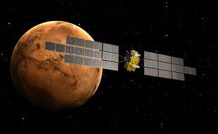 ERO, - le tout premier vaisseau spatial qui ramenera des échantillons sur Terre depuis Mars mis au point par Airbus pour le compte de la Nasa.