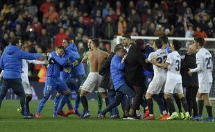 Valence s'est qualifié in extremis contre Getafe en Coupe d'Espagne.