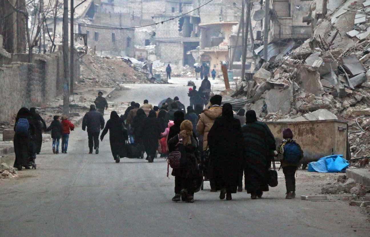 Les forces syriennes ont tué 82 civils, annonce l'ONU — Alep-Est