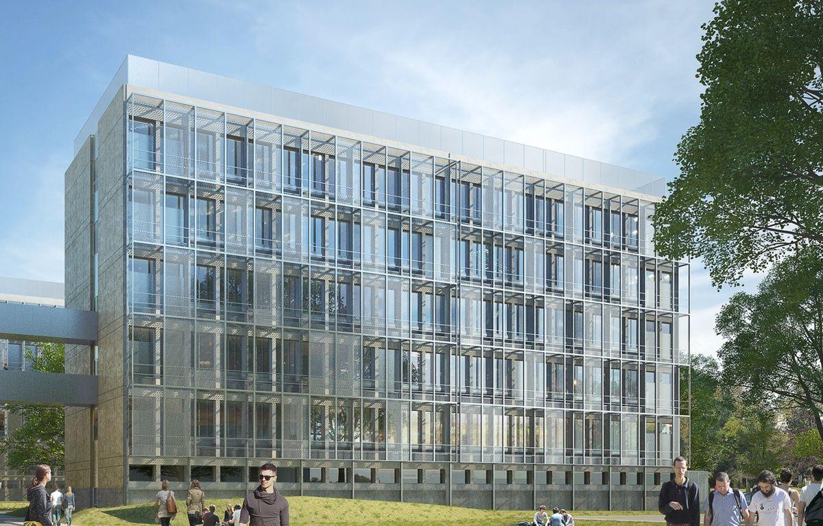 Le campus LyonTech-La Doua à Villeurbanne va faire l'objet d'une vaste réhabilitation d'ici à 2020 – Lwoff Forel Dubois Kaupunki