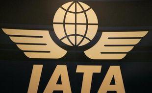 Le logo de l'Association internationale du transport aérien (IATA°