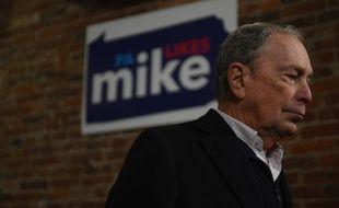 Michael Bloomberg en campagne à Philadelphie (Pennsylvanie), le 21 décembre 2019.