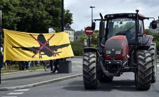 Manifestation contre la construction de l'aéroport de Notre-Dame-des-Landes, le 18 juin 2015