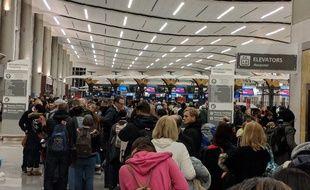 Des centaines de vols ont été retardés à l'aéroport d'Atlanta le 17 décembre 2017.