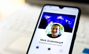 Le compte Facebook de Mark Zuckerberg