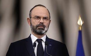 Edouard Philippe, le 28 mars 2020 à Paris.