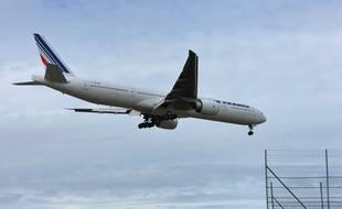 Après la démission du patron d'Air France, le titre de la compagnie chutait le 7 mai 2018.