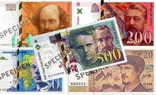 Les derniers billets en francs disparaissent, ce 17 février