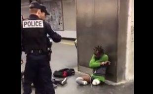François Bayga, joueur de rugby-fauteuil en Ile-de-France, a été contrôlé par la police, lundi, sur un quai de Gare de Lyon.