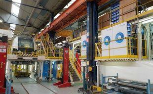 L'usine Bombardier de Crespin fabrique les futurs RER NG (Archives).