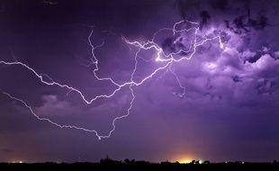 Cinq départements sont encore concernés par l'alerte orange aux orages.
