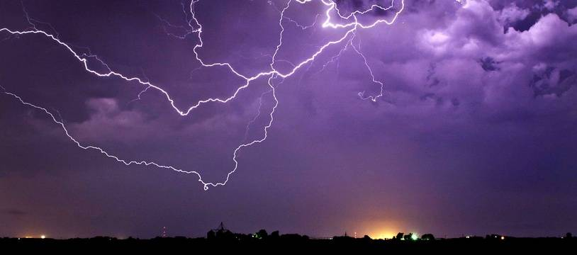 Alerte orange aux orages dans le Gard et l'Hérault.
