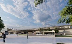 Le projet d'extension de l'aéroport de Lille.