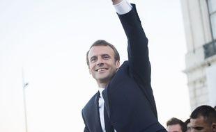 Emmanuel Macron lors d'un déplacement au Portugal en juillet 2018.