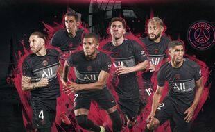 Le maillot Third du PSG vient d'être dévoilé par le club. Disponible pour toute commande dès maintenant sur le site Nike