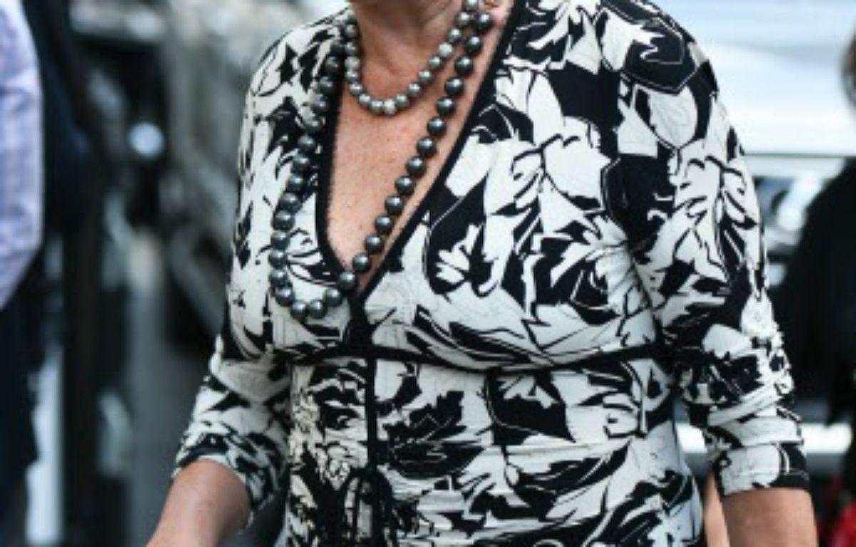 L'ancienne épouse du futur président américain, Ivana Trump. – SIPANY