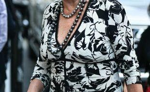L'ancienne épouse du futur président américain, Ivana Trump.