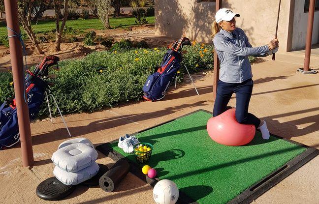 Coronavirus: Une coach donne ses conseils pour golfer chez soi durant le confinement