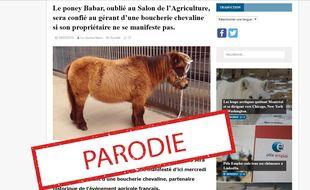 L'article original publié par le blog Le Journal News.