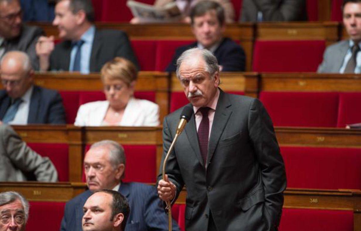 Le député écologiste Noël Mamère, le 24 avril 2013 à l'Assemblée nationale. – LCHAM/SIPA