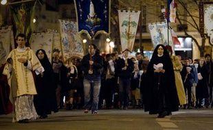 Manifestation le 8 Décembre 2011 à Paris, contre «Golgota Picnic»