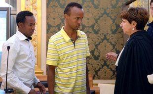 Deux de trois pirates somaliens accusés d'avoir pris en otages les cinq occupants du voilier la Tanit au large de la Somalie en 2009.
