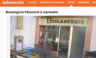 La commune de Lédergues, dans l'Aveyron, a publié une petite annonce le 11 octobre 2016 afin de trouver un repreneur pour la boulangerie-pâtisserie du village.