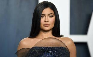 Kylie Jenner lors de la Vanity Fair Oscar Party en février 2020
